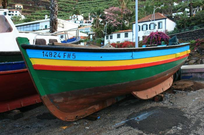 Fishing boat, Camara de Lobos (Catherine Strong)