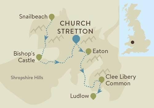A Shropshire Way Map