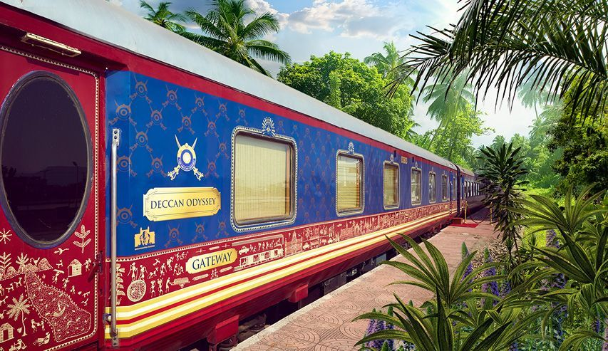Riches of India & Luxury Railway Escape