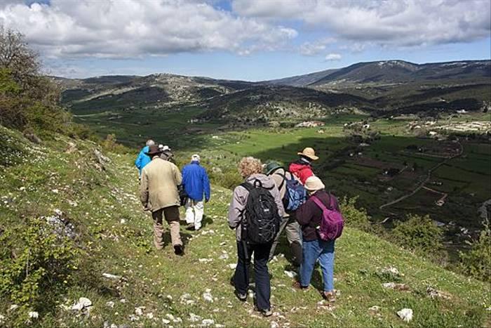 On the Pilgrim's Path below Monte Sant'Angelo (Lee Morgan)