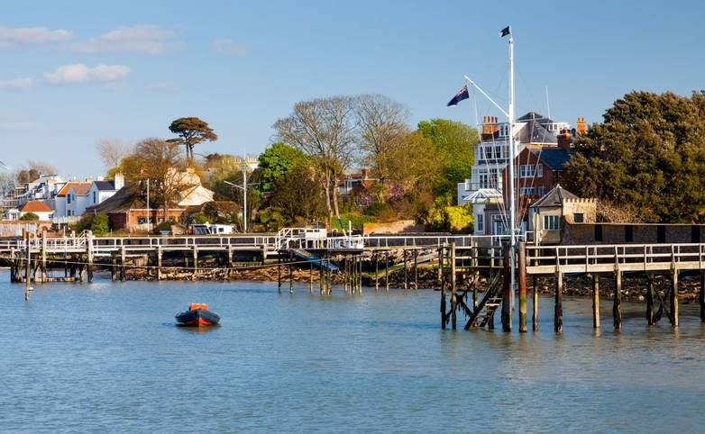 Yarmouth on the Isle Of Wight England