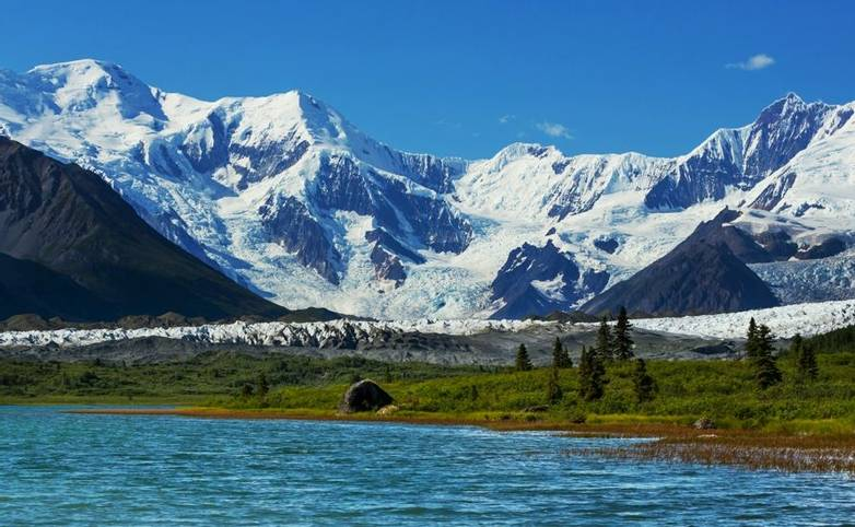 Wrangell-St. Elias National Park and Preserve, Alaska.