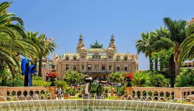 Grand Casino in Monte Carlo. Monaco