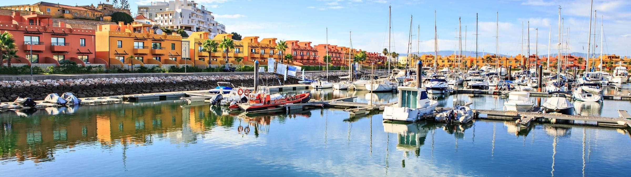 Marina de Portimao, Algarve, Southern Portugal. Credit: Variety Cruises