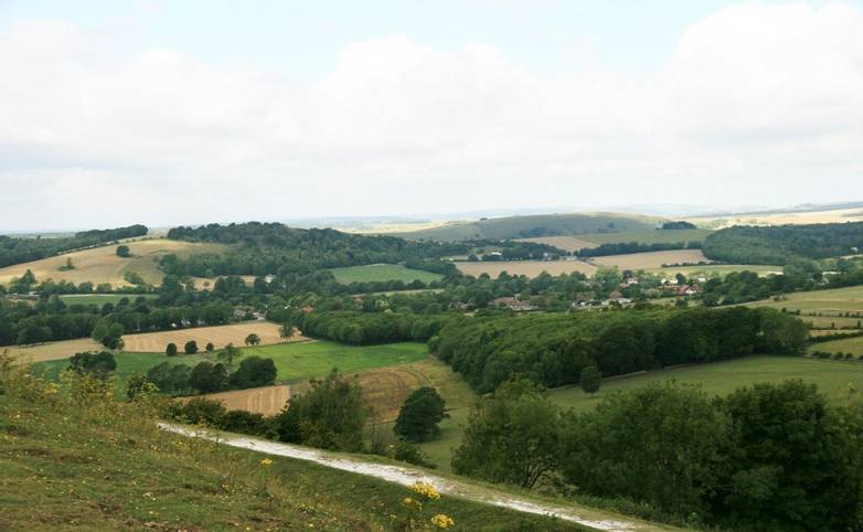 View northwards from Cissbury Ring.JPG