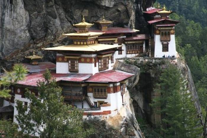 Tiger's Nest Monastery (David Tattersfield)