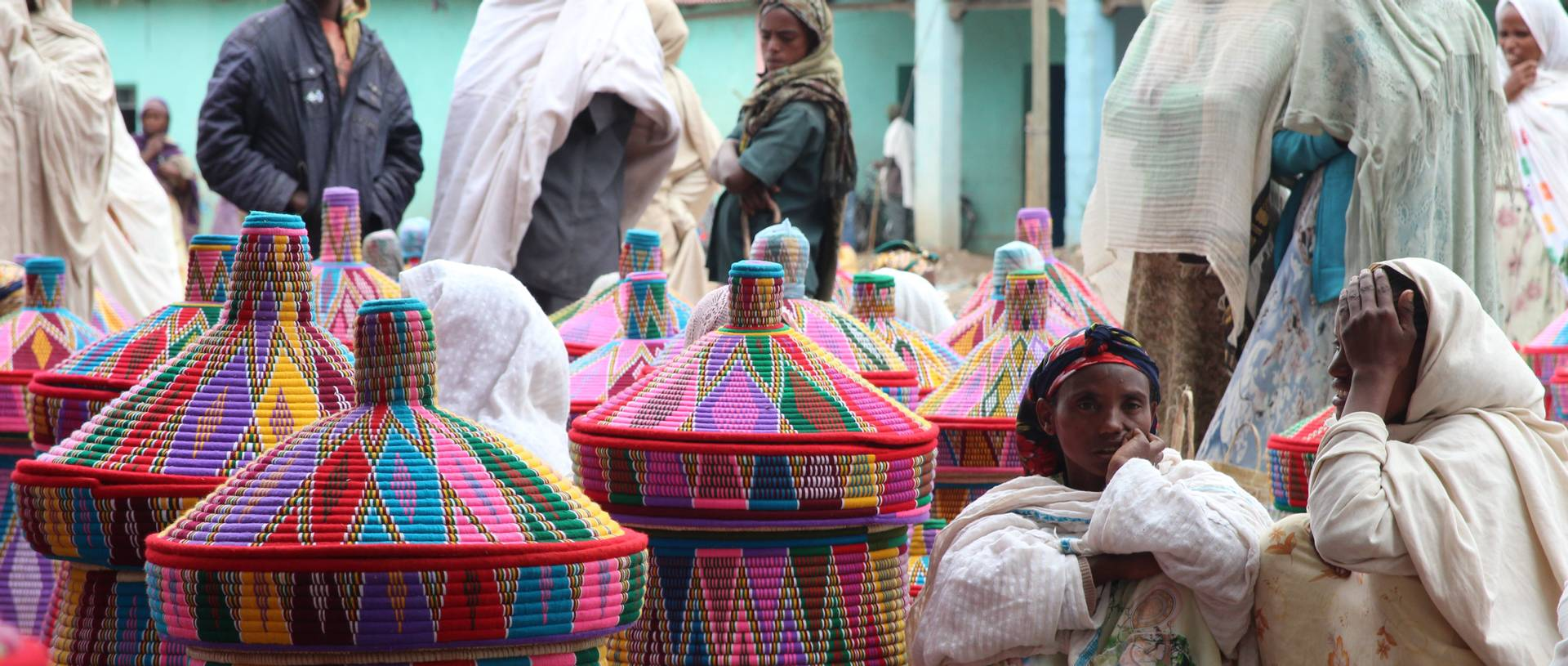Basket Market, Axum, Ethiopia