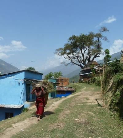 Manbu village (1,300m)