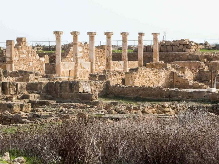 Paphos Archaeological Site (Lisa Williamson)