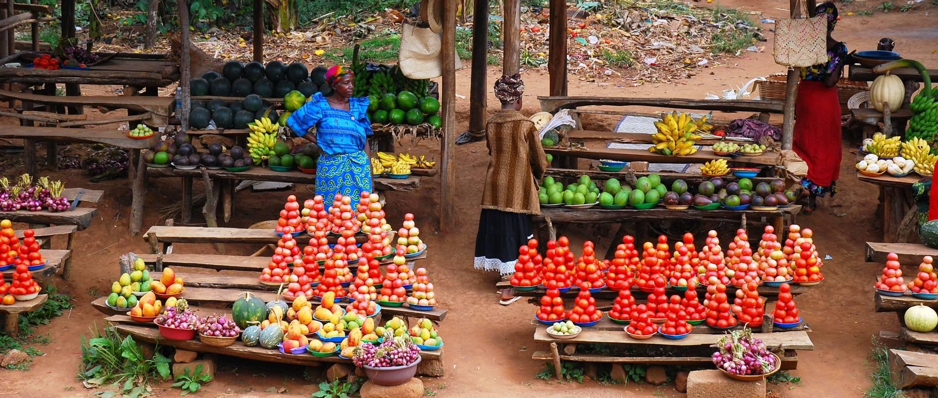 Roadside Stalls, Uganda