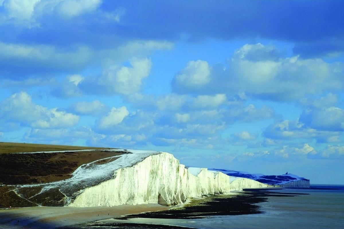 Seven sisters in snow
