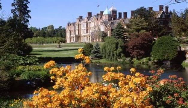 ©Sandringham Estate   House Azaleas