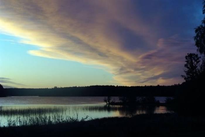 Swedish lake scene