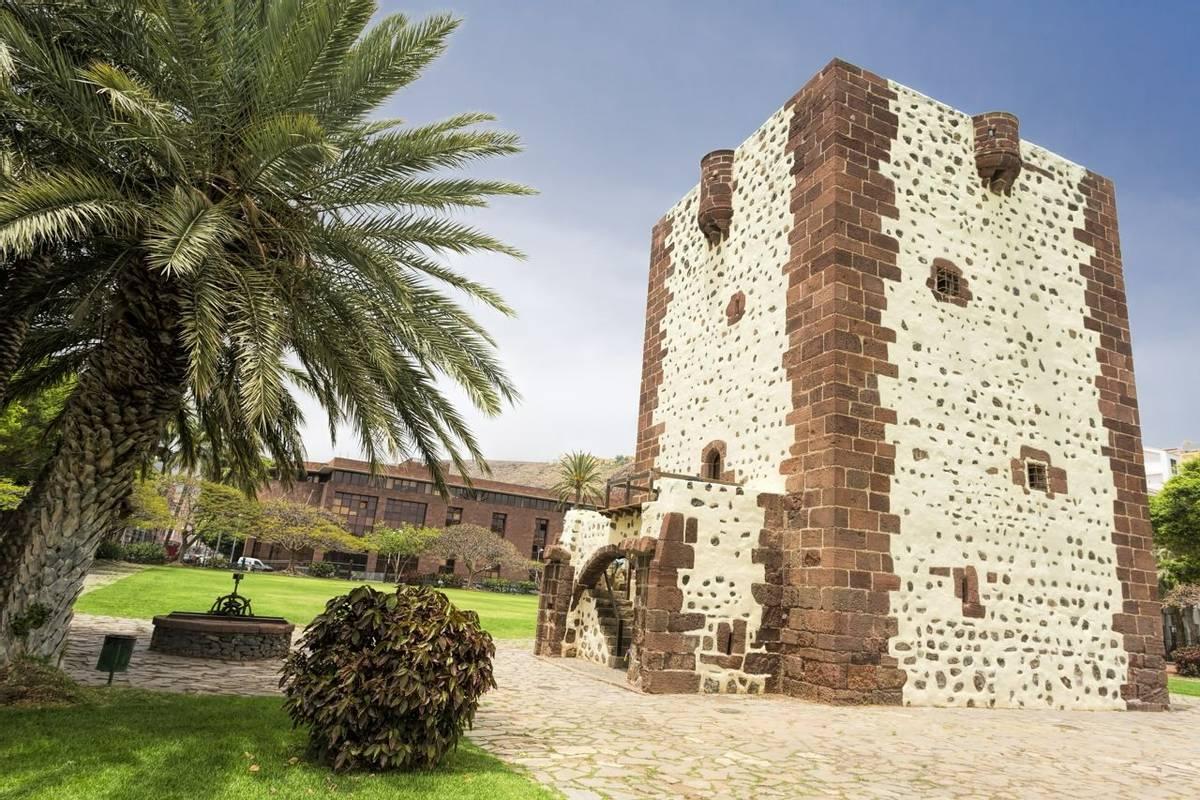Der Torre del Conde auf La Gomera, Spanien