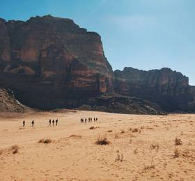 Little Petra and Wadi Rum desert