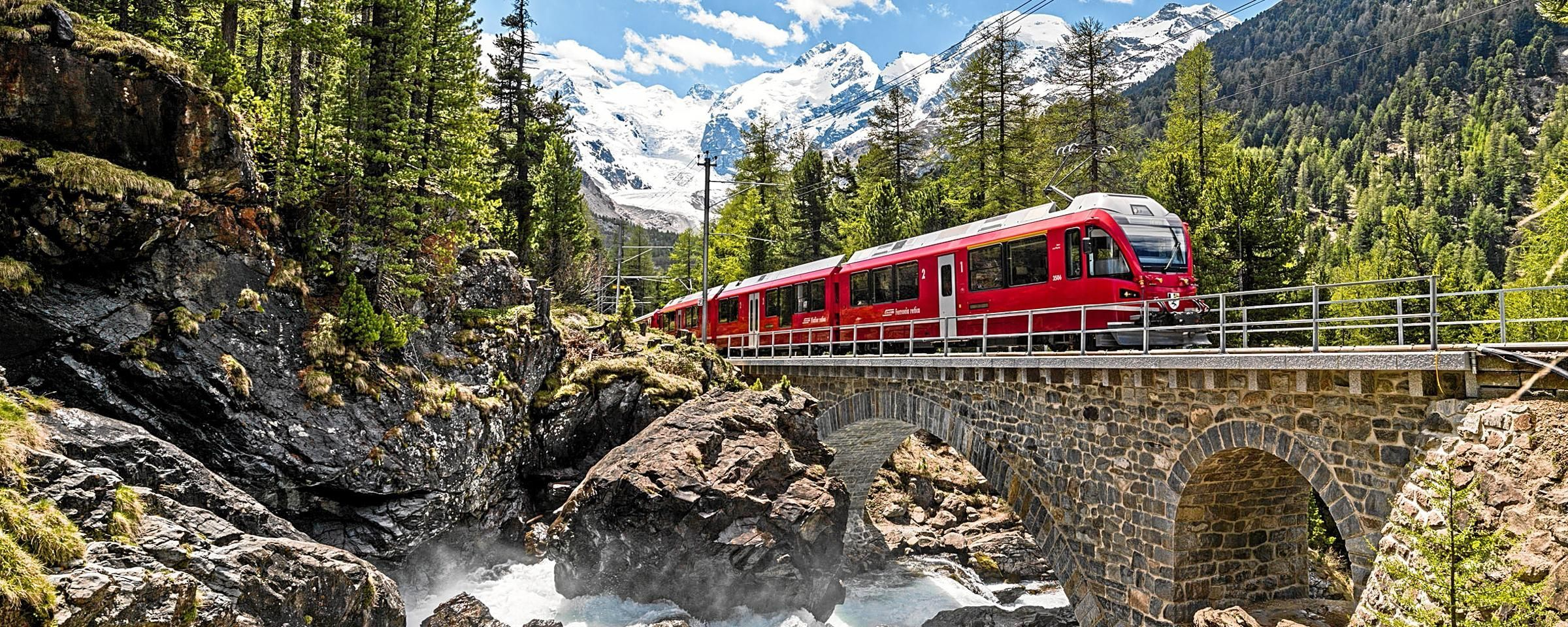 Italian Lakes Retreat and Scenic Swiss Rail