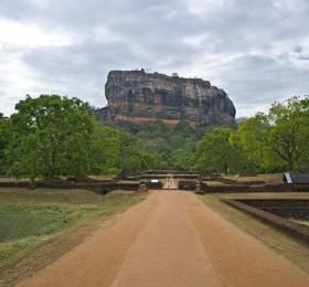 Dambulla visit and Sigiriya climb