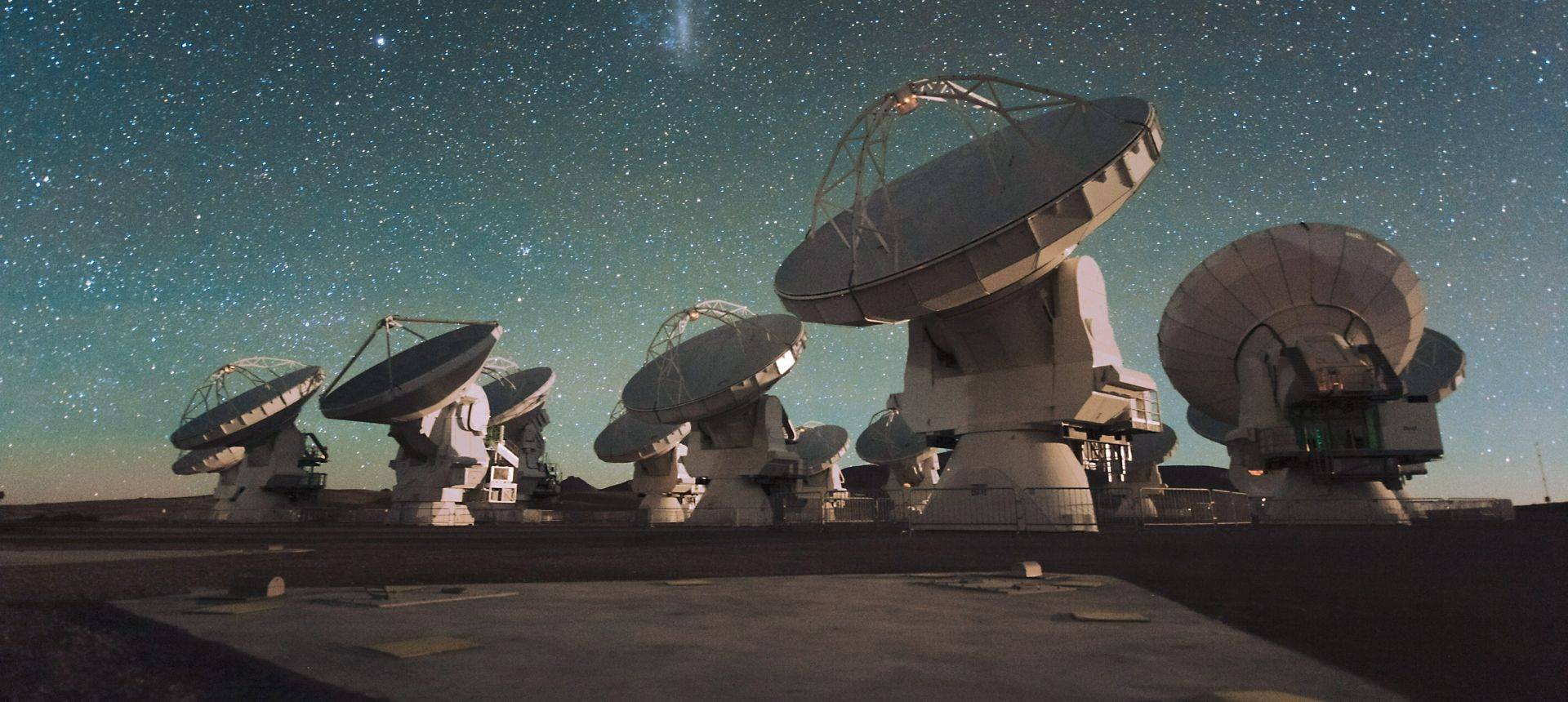 ALMA Radio Telescopes ESO/C Malin