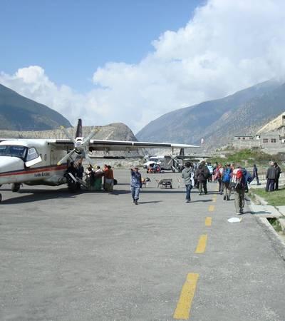 Jomsom STOL airport