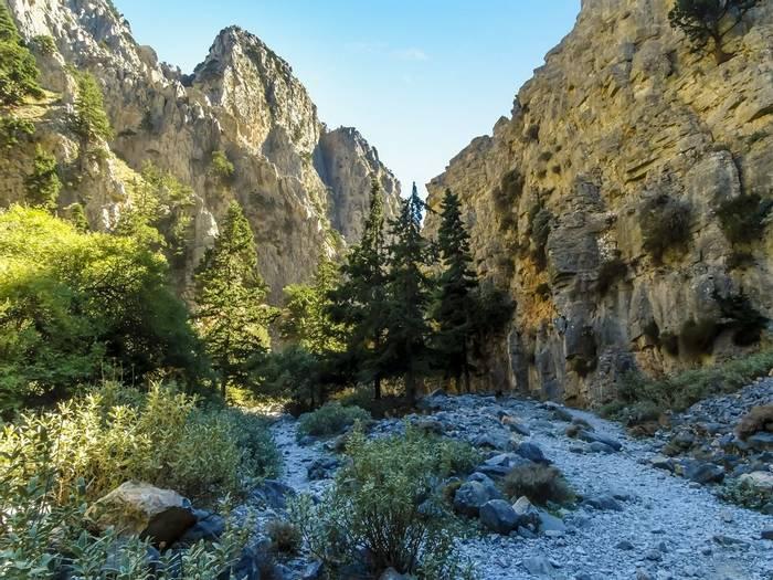 Imbros Gorge, Crete Shutterstock 785993185