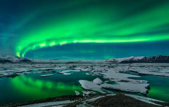 Northern Lights Iceland. Shutterstock 143438332