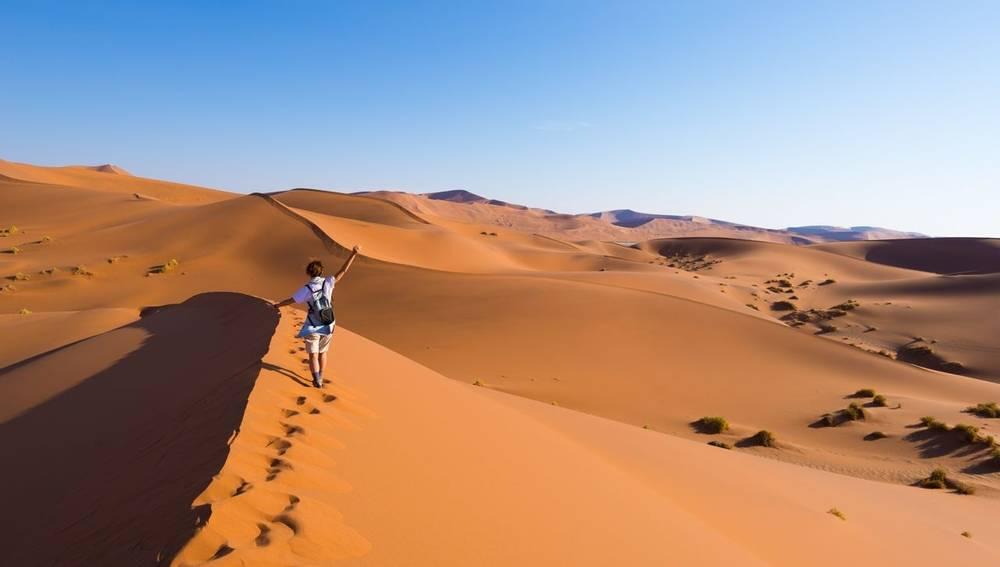 Sossusvlei Dunes, Namibia