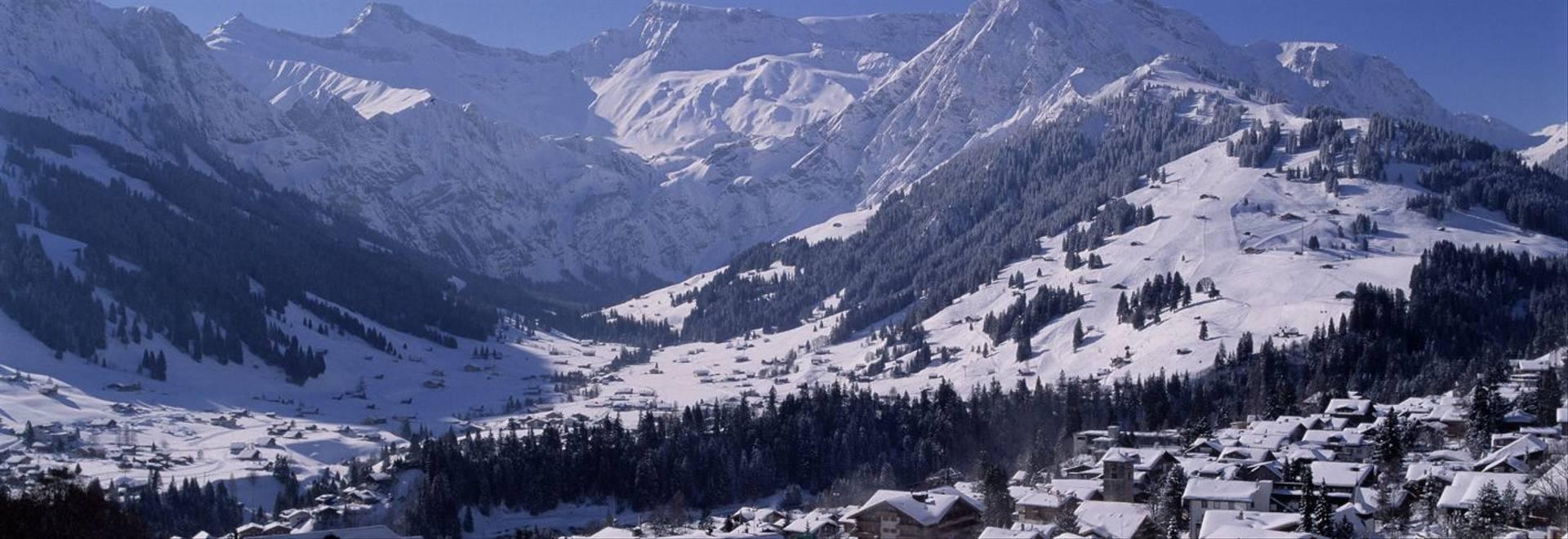 Adelboden  Birchermatte Winter