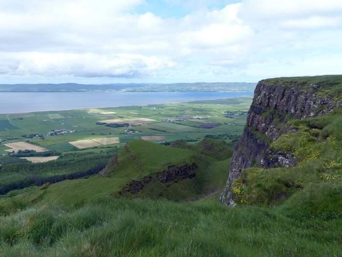 Binevenagh cliff slumps
