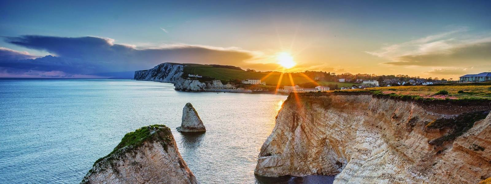 Freshwater Bay at Sundown