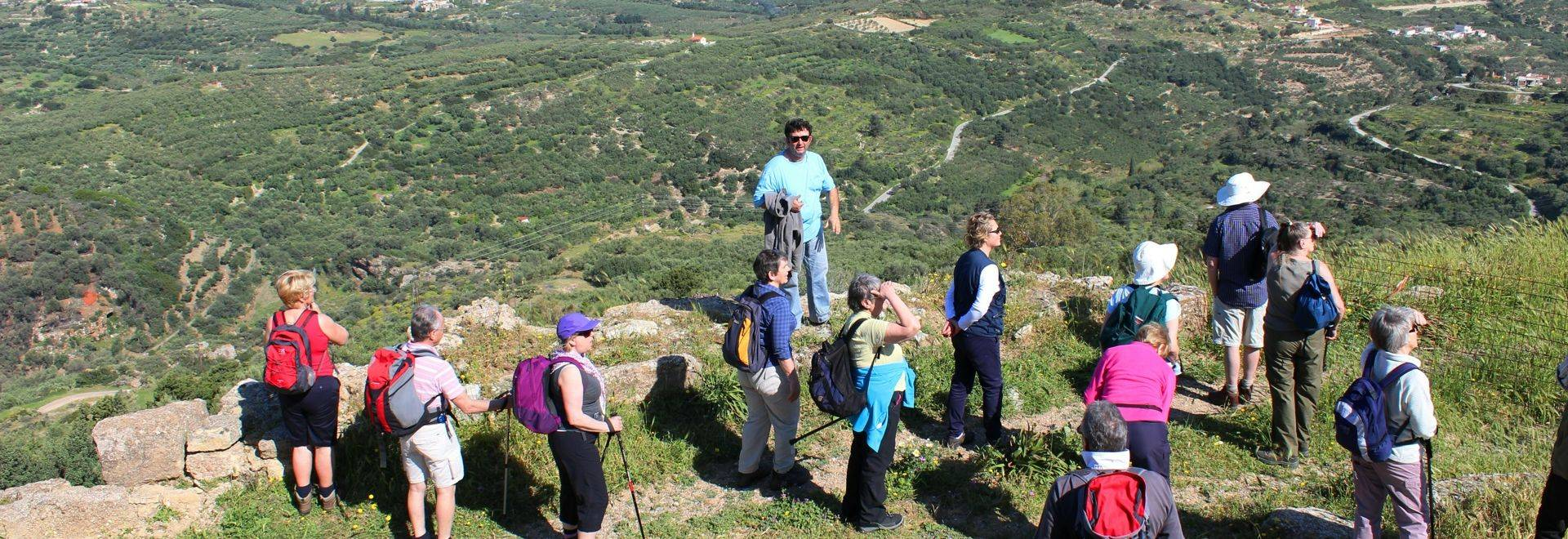 Yoga & Walking In Crete