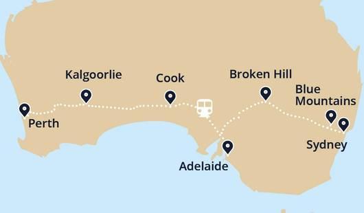 IP Sydney City Explorer Map