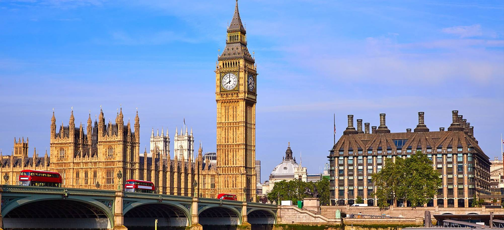 London   Westminster Bridge, Big Ben And Houses Of Parliament   Itinerary Desktop