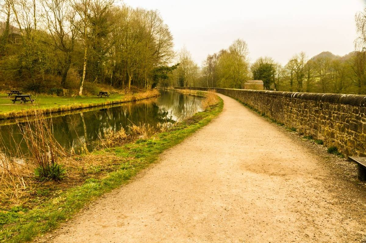 Cromford Canal, early morning