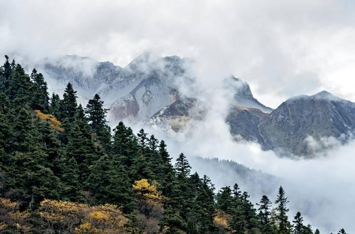 Huanglong National Park, Sichuan, China Shutterstock 232735096