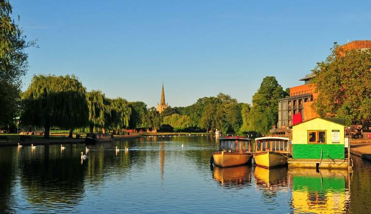 Dreamstime M 26009469 River Avon In Stratford