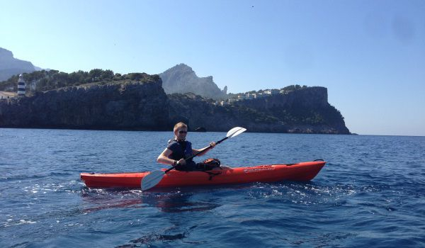 Kayaking in Mallorca