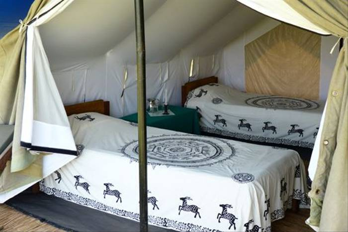 Suklaphanta Camp tent (David Smallshire)
