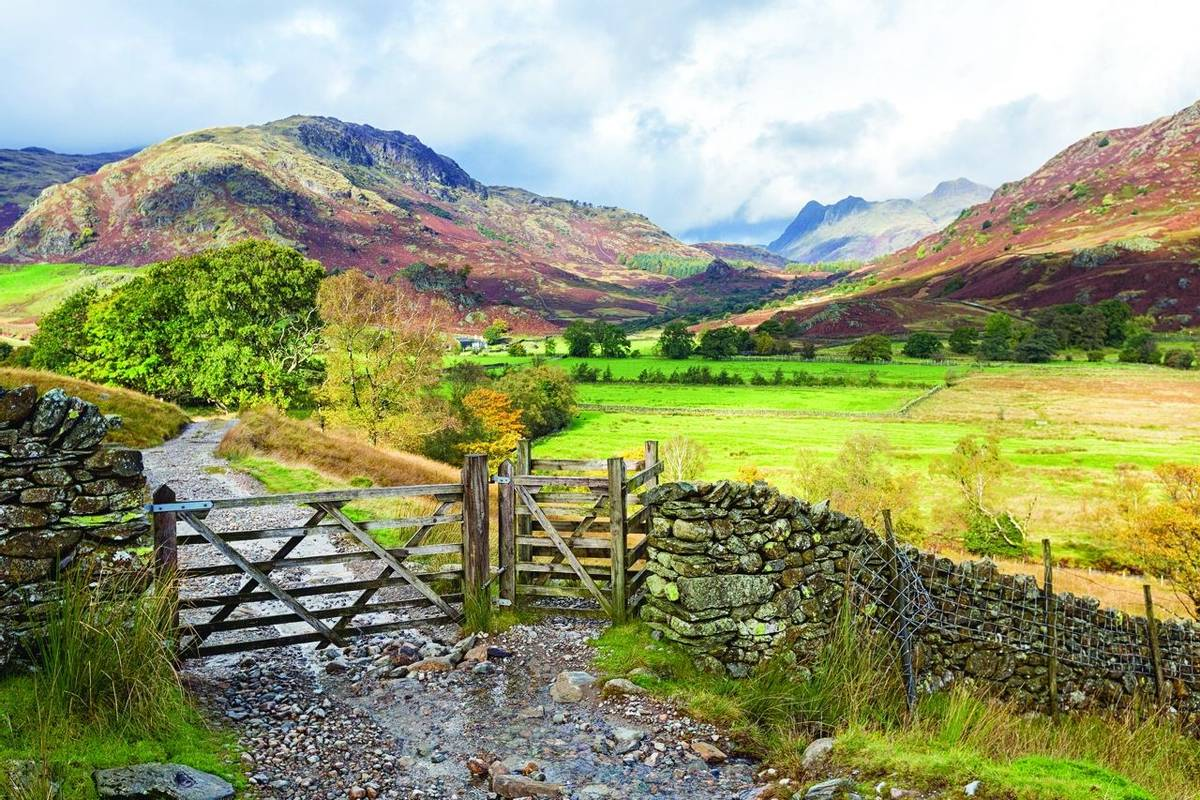 Gateway onto Little Langdale and The Pikes