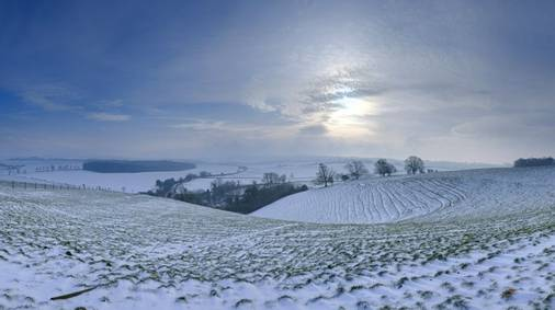 4-Night South Downs Christmas Guided Walking Holiday