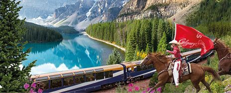 Calgary Stampede, Lake Louise & Luxury Rocky Mountaineer Experience