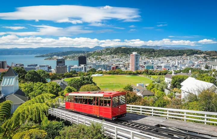 The most famous landmark in Wellington.