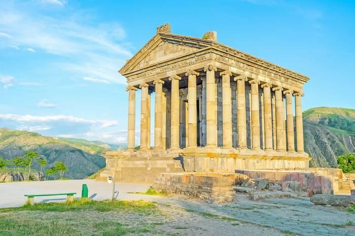 Garni Temple, Armenia Shutterstock 494650483