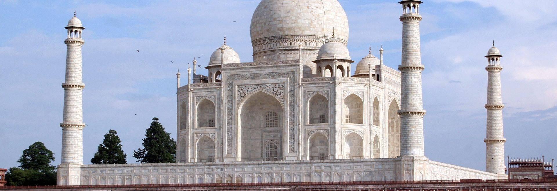India Scenic Taj Mahal