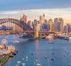Sydney - Disembark Queen Elizabeth & Hotel Stay