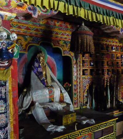 Inside Shey Gompa
