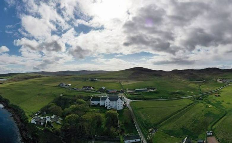 Orkney & Shetland - Busta House Hotel - Busta Drone.jpg