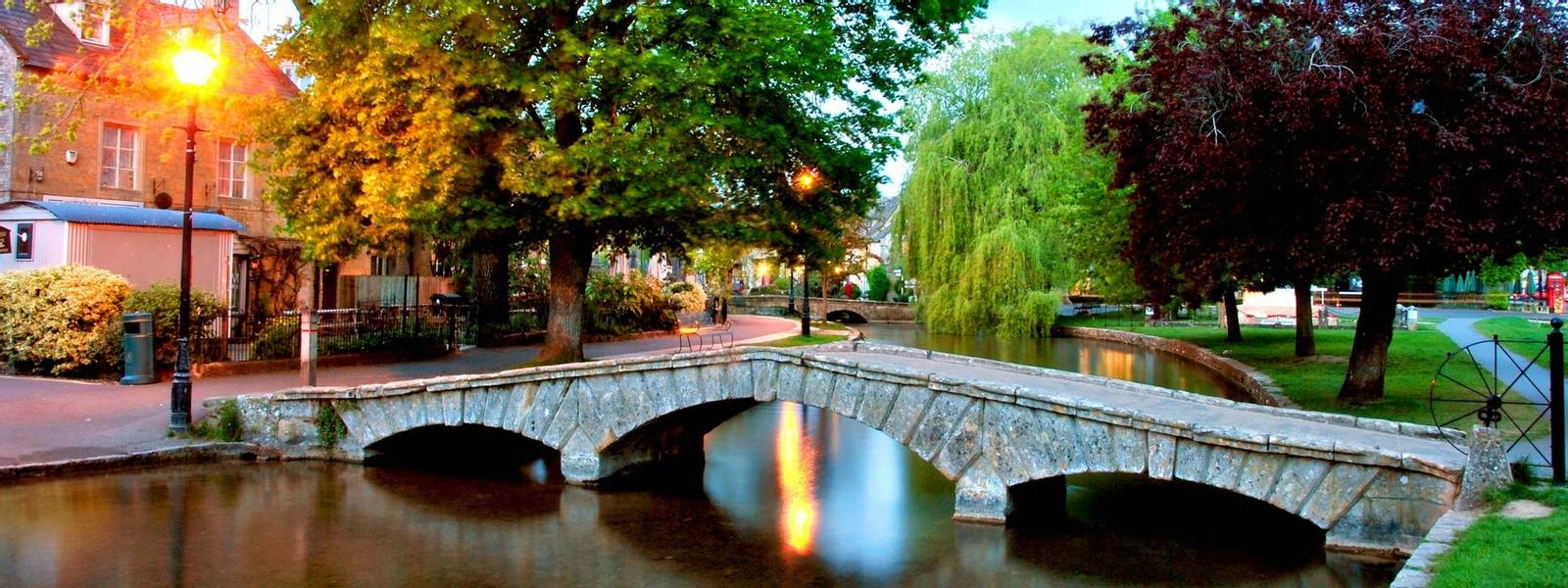 Bourton on the Water Cotswolds Gloucestershire England
