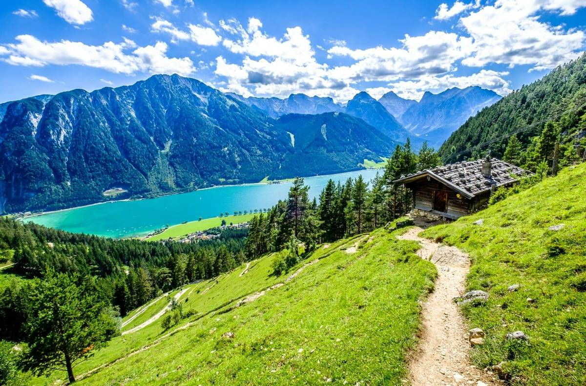 achensee lake in austria - pertisau