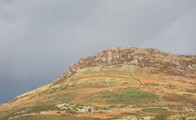 Moel y Gest - a 263m hill to the west of Porthmadog in North Wales.