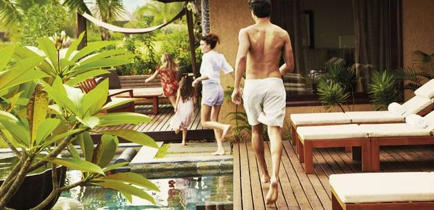 Family Holiday at Shanti Maurice